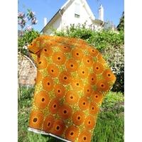 Wax Soleil orange 20 x 120 cm