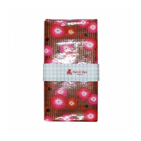Coupon Enduit Coquelicot rouge 50 x 70 cm