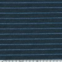 Jersey rayé lurex fond marine 20 x 140 cm