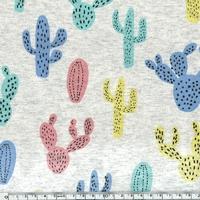 Jersey cactus multico 20 x 140 cm