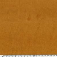Velours lisse coloris moutarde 20 x 140 cm