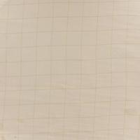 Double gaze lisse FDS carreaux or fond nude 20 x 140 cm