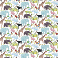 Jersey Liberty Queue for Zoo coloris A 20 x 140 cm