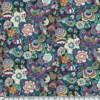 Liberty Gatsby Small Garden prune coloris B 20 x 137 cm