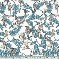 Liberty popeline Treetops coloris C 20 x 145 cm