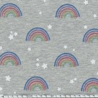 Jersey arc-en-ciel paillettes 20 x 140 cm