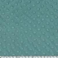 Jersey plumetis coloris eucalyptus 20 x 140 cm