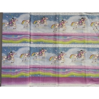 Tissu Gorjuss Frise Rainbow Dreams 20 x 110 cm