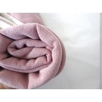 Molleton à paillettes coloris rose pâle 20 x 140 cm