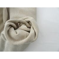 Molleton à paillettes coloris beige 20 x 140 cm