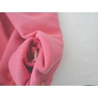 Molleton à paillettes coloris sorbet 20 x 140 cm