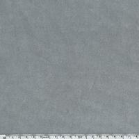 Jersey velours lisse gris 20 x 140 cm