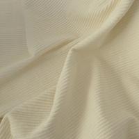 Velours grosses côtes blanc cassé 20 x 140 cm