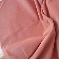 Velours milleraies stretch rose 20 x 140 cm
