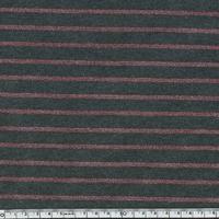 Jersey rayé lurex rose fond gris 20 x 140 cm
