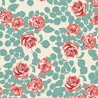 Tissu Fusion Pruning Roses Woodlands 20 x 110 cm