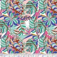 Tissu Jungle tropicale 20 x 110 cm
