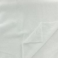 Tissu éponge de bambou blanc 20 x 140 cm