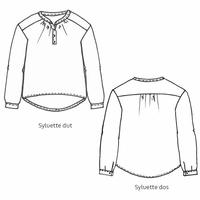 Patron blouse Sylvette