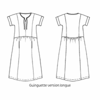 Patron robe Guinguette