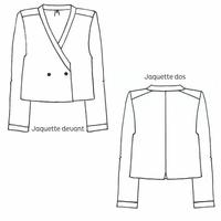 Patron veste Jaquette