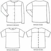 Patron blouse Girouette