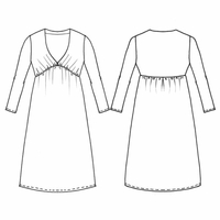 Patron robe Starlette