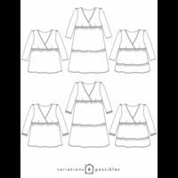 Patron robe/blouse Eugénie