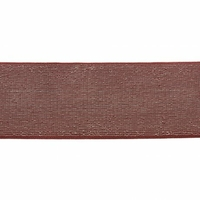 Elastique luxe brique lurex argent 40mm x 10cm
