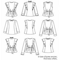 Patron blouse Møme (du 34 au 52)