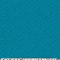 Jersey matelassé émeraude 20 x 140 cm