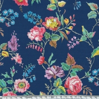 Viscose Liberty Yorkshire Rose coloris A 20 x 133 cm