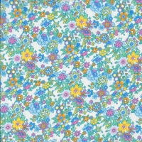Viscose Liberty Floral Waltz coloris B 20 x 133 cm