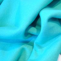 Molleton à paillettes coloris turquoise 20 x 140 cm