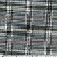 Tissu Prince de Galles fantaisie 20 x 140 cm