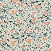 Tissu Love Story Lovebirds Celeste 20 x 110 cm