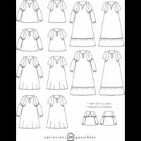 Patron robe/blouse Petites choses