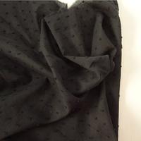 Tissu plumetis coloris réglisse 20 x 140 cm