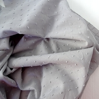 Tissu plumetis coloris poivre blanc 20 x 140 cm