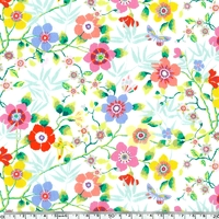 Liberty Mini Pavillon blanc coloris A 20 x 137 cm