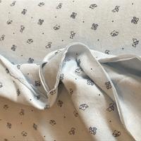 Jersey double origami fond bleu ciel 20 x 145 cm