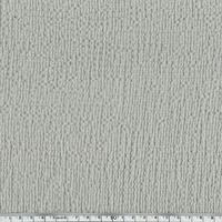 Coton gaufré grège clair 20 x 140 cm