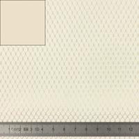 COUPON de mesh coloris naturel 50 x 137 cm
