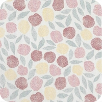 Viscose Fruits des bois coloris Cream 20 x 138 cm