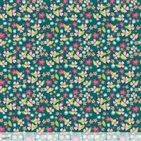 Tissu Junglemania fleurs des îles 20 x 110 cm