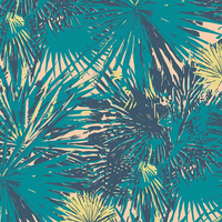 Tissu voile de coton Coastline Tropical Breeze 20 x 132 cm
