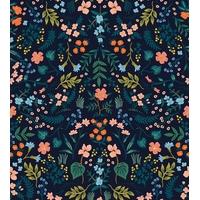 Tissu Wildwood Navy 20 x 110 cm