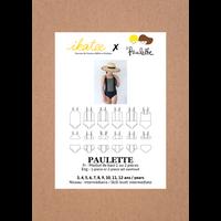 Patron Maillot de bain PAULETTE 3-12A