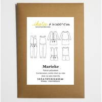 Patron blouse / combinaison / robe MARIEKE 3-12A
