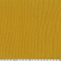 Bord côté moutarde assorti au jersey coton/spandex 20 x 72 cm